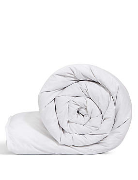Goose Feather & Down 13.5 Tog Duvet, WHITE, catlanding