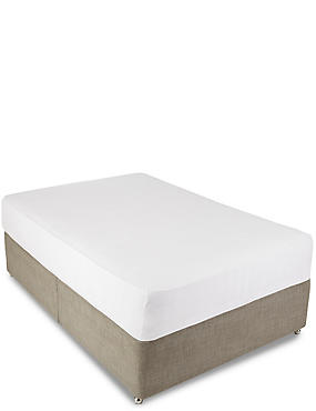 Jersey Fitted Sheet, WHITE, catlanding