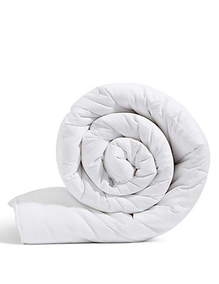 Supremely Washable 10.5 Tog Duvet, WHITE, catlanding