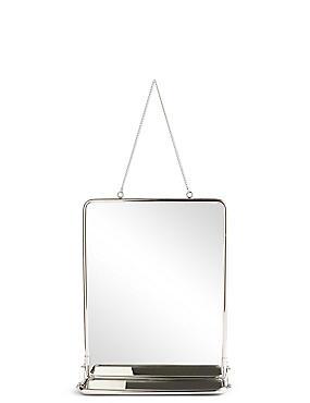 Vintage Hanging Mirror, , catlanding