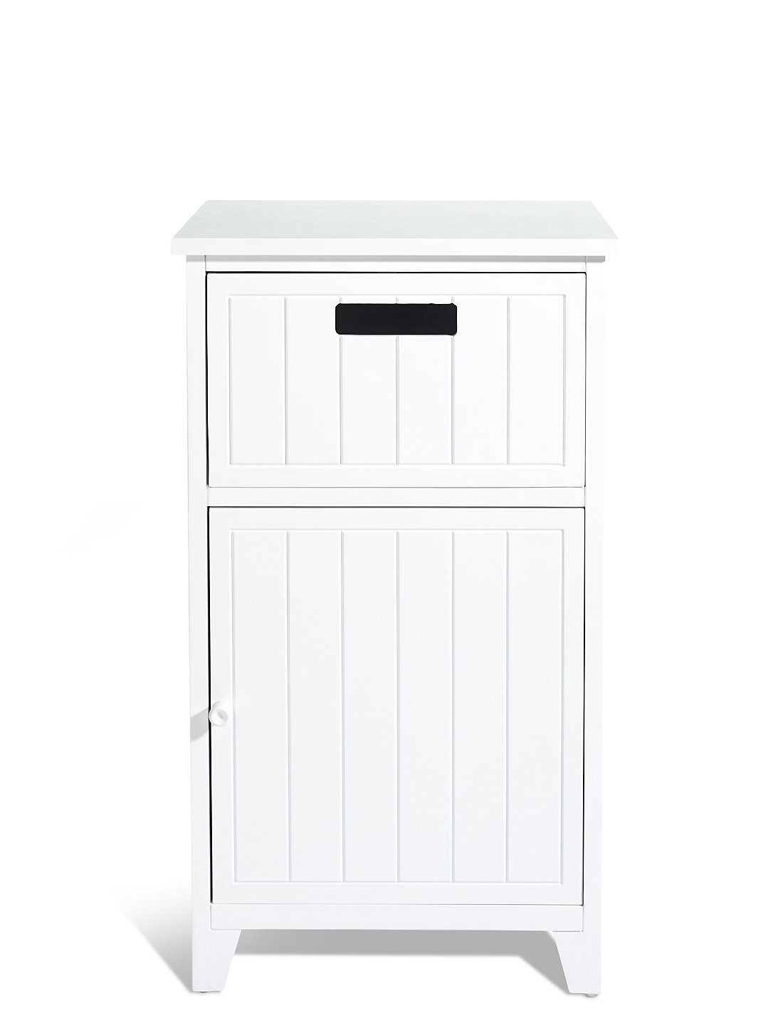 Bathroom drawer units in white - Whitby Towel Cupboard