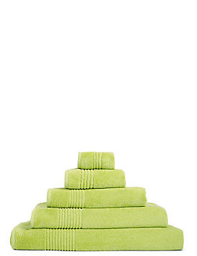 Luxury Egyptian Cotton Towel, SOFT LIME, catlanding
