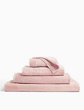Luxury Egyptian Cotton Towel, SOFT PINK, catlanding