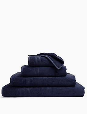 Luxury Egyptian Cotton Towel, NAVY, catlanding