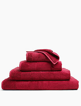 Luxury Egyptian Cotton Towel, BERRY RED, catlanding