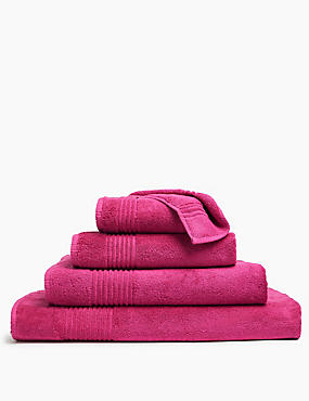 Luxury Egyptian Cotton Towel, HOT PINK, catlanding