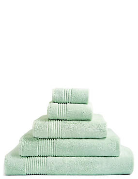 Luxury Egyptian Cotton Towel, SAGE GREEN, catlanding
