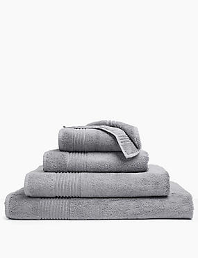 Luxury Egyptian Cotton Towel, SILVER GREY, catlanding