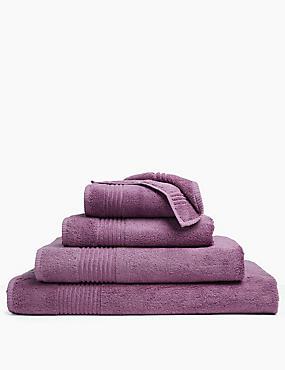 Luxury Egyptian Cotton Towel, AMETHYST, catlanding