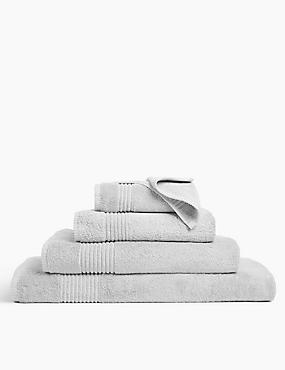 Luxury Egyptian Cotton Towel, LIGHT GREY, catlanding