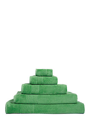 Luxury Egyptian Cotton Towel, FRESH GREEN, catlanding