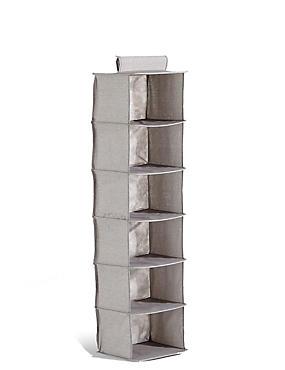 6 Shelf Organiser, , catlanding