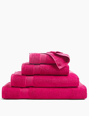 Supersoft Towel, RASPBERRY, catlanding