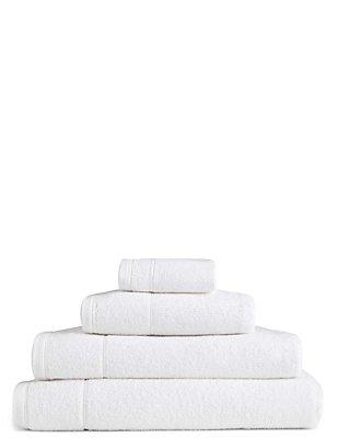 Lichte handdoek, WIT, catlanding