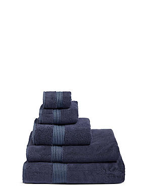 Luxury Cotton Blend Towels  , STORM, catlanding