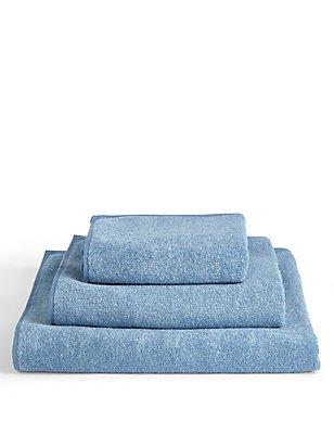 Marl Towel, CHAMBRAY, catlanding