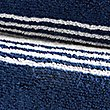 Contemporary Striped Towel, NAVY, swatch