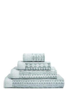 Safari Geometric Towel, GREY MIX, catlanding