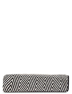 Safari Chevron Towel, BLACK MIX, catlanding