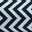 Chevron Towel, NAVY, swatch