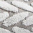 Contemporary Geometric Print Towel, GREY MIX, swatch