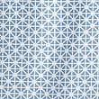 Coastal Geometric Shower Curtain, BLUE MIX, swatch