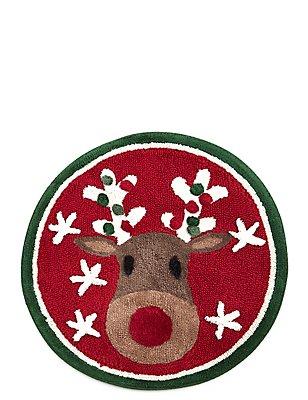 Reindeer Bath Mat, , catlanding