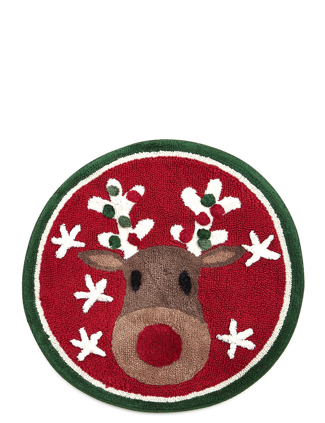 Christmas bathroom accessories - Reindeer Bath Mat