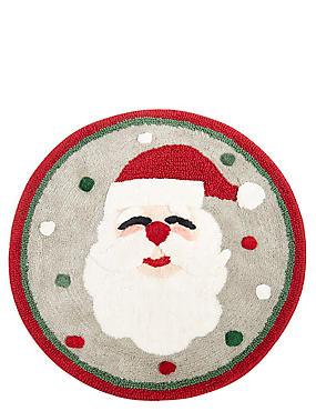Santa Bath Mat, , catlanding