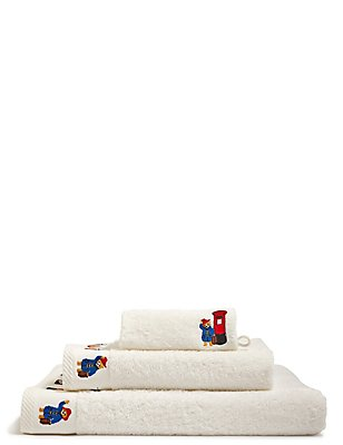 Paddington™ Bear Towel Bale, WHITE MIX, catlanding