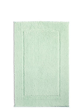 Quick Dry Bath & Pedestal Mats, SAGE GREEN, catlanding