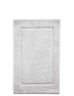 Sneldrogende bad- en toiletmat, PARELGRIJS, catlanding