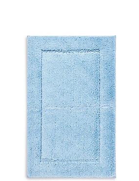 Sneldrogende bad- en toiletmat, CHAMBRAY, catlanding