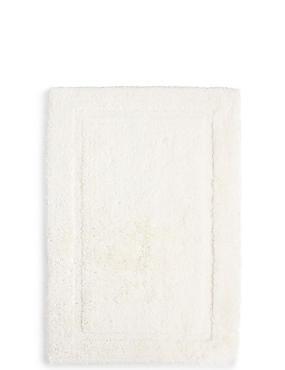 Pure Egyptian Cotton Bath & Pedestal Mats, CREAM, catlanding