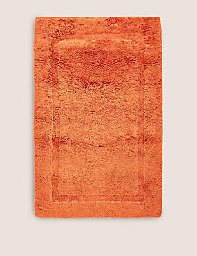 Pure Cotton Bath Mat, CINNAMON, catlanding