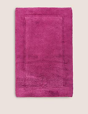 Pure Cotton Bath Mat, MULBERRY, catlanding