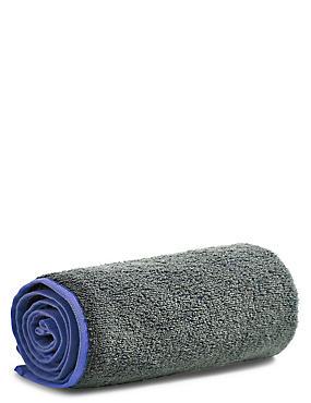 Small Gym Towel, ROYAL BLUE, catlanding