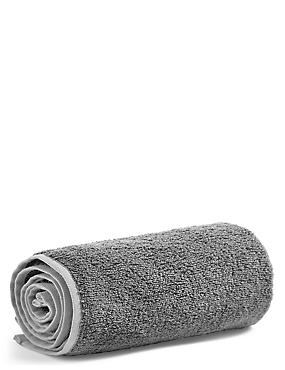 Small Gym Towel, CHARCOAL, catlanding
