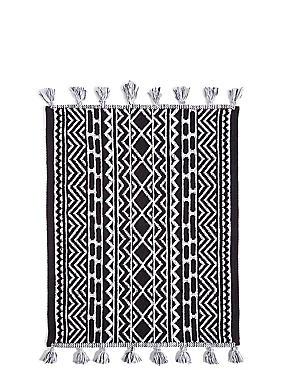Monochrome Mat, BLACK/WHITE, catlanding