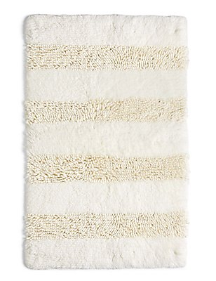 Shaggy Bath Mat, CREAM, catlanding