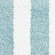 Wide Striped Bath Mat, DUCK EGG, swatch