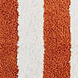 Wide Striped Bath Mat, TERRACOTTA, swatch