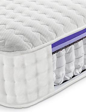 Memory Cool Foam 750 Mattress, WHITE, catlanding