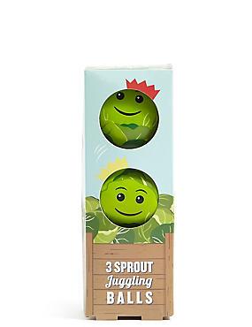 3 Sprout Juggling Balls, , catlanding