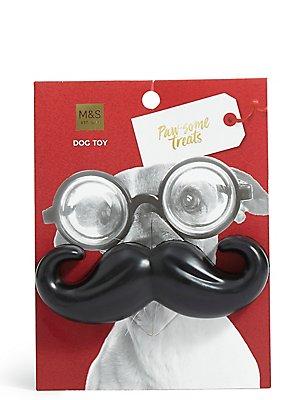 Dog Toy Moustache, , catlanding