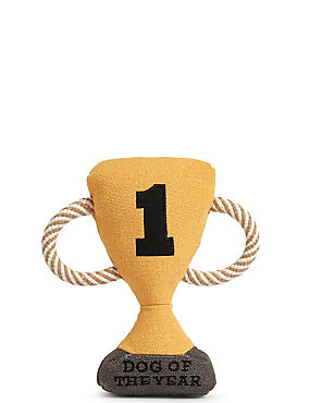 Dog Toy Trophy, , catlanding
