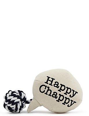 Boule avec texte «Happy Chappy», , catlanding