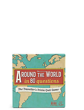 Around The World in 80 Questions, , catlanding