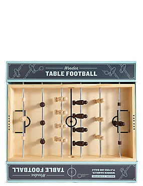 Wooden Table Football, , catlanding
