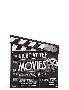 Night at the Movies Quiz Game, , catlanding